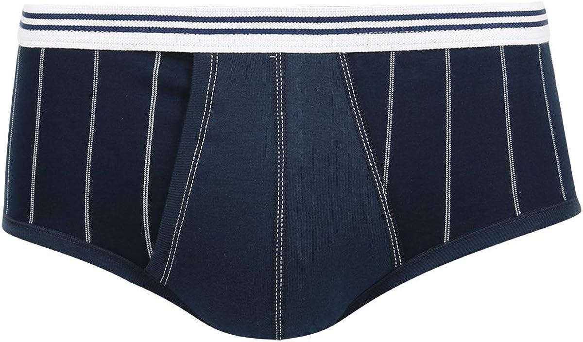 Eminence Mens Pur Coton Slip Taille Haute Ouvert