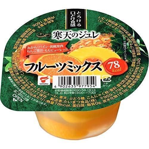 たいまつ食品 寒天のジュレ フルーツミックス 160g ×12個