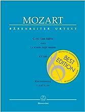 Mozart: Così fan tutte, K. 588 (Vocal Score)