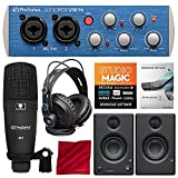 PreSonus AudioBox 96 Studio Plus Recording Kit with Studio One Software and PreSonus Eris E3.5 Multimedia Reference Monitors (Pair) Bundle