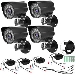 Bullet Camera, HD CCTV Camera, CVBS 1080P for Open Air Office Exterior Outdoor Places 100-240V British standard