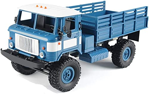 YOOCR RC Gel ewagen 2,4 GHz Metall Chassis High Speed  llradantrieb Legierung Auto Klettern Kinderspielzeug Erwachsenes Modell DIY Klettern Sto st Gel ewagen Kletterwagen (Farbe   Blau)