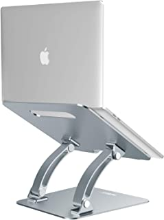 Nulaxy Laptop Stand, Ergonomic Adjustable Laptop Riser Computer Laptop Stand Compatible with MacBook, Air, Pro, Dell XPS, Samsung, Alienware All Laptops 10-17.3
