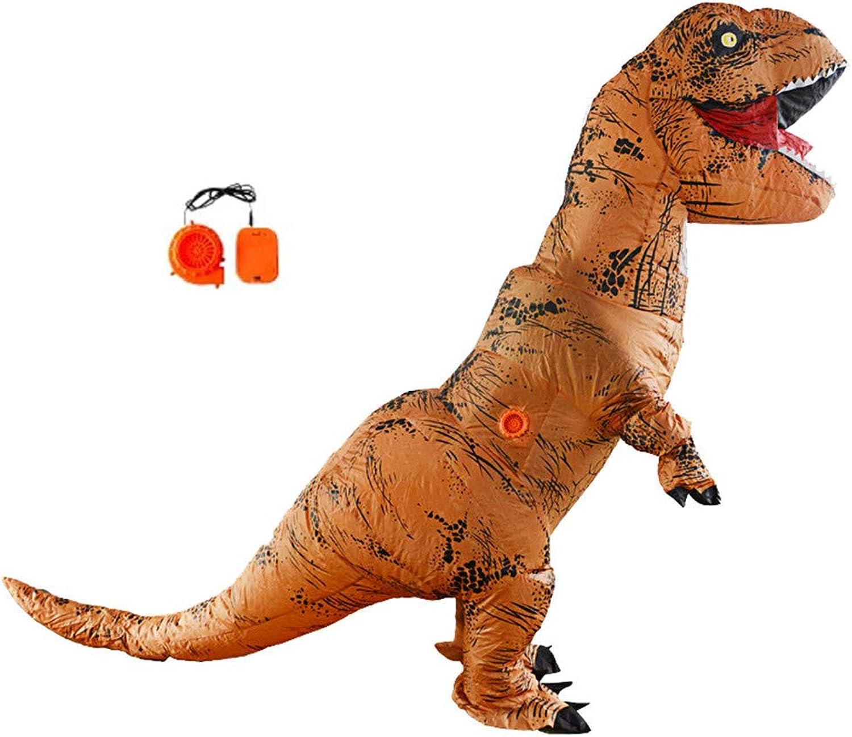 comprar descuentos Lvbeis Disfraz De Dinosaurio Inflable Inflable Inflable para Adultos Trex Fancy Dress For Halloween Horror Party Outfit para El Tamaño 150cm-2m  Hay más marcas de productos de alta calidad.