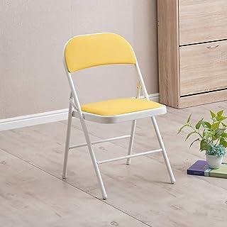 Wyujie Impermeables sillas sillas de Comedor Cocina 4Er Juego de Comedor Cocina Sala de Estar Oficina de habitación en el Patio Negro Verde Rosa Blanca,White & Yellow