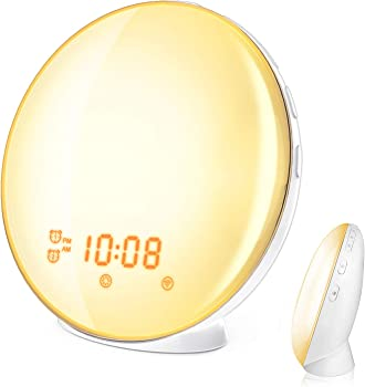 HoMii Wake Up Light Alarm Clock