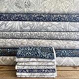 William Morris Stoffpaket – William Morris – Baumwolle