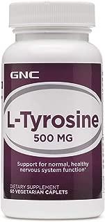 GNC LTyrosine 500 MG 60 Vegetarian Caplets