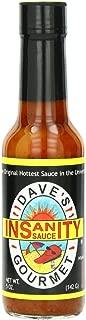 Dave's Gourmet 12 Piece Insanity Hot Sauce, 5 Ounce