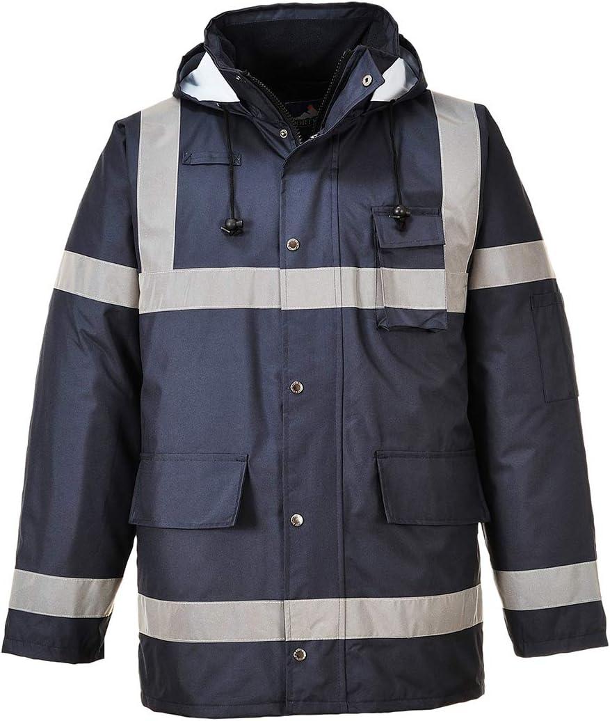 Portwest US433NARL Regular Fit Iona Lite Jacket, Large, Navy