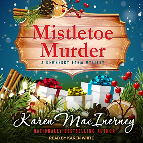 Mistletoe Murder audiobook cover art