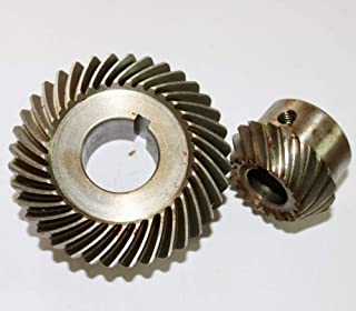 Bevel gear set spiral toothed module 0.6 number of teeth 20//60 i=3:1 material steel 42CrMo4 teeth hardened