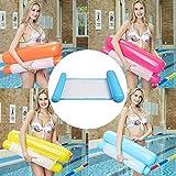 Pwmzl Amaca Gonfiabile per Piscina, Galleggiante Materassini Gonfiabili Mare, Amaca di Acqua Pool Float per Adulti e Bambini Spiaggia (Azzuro)