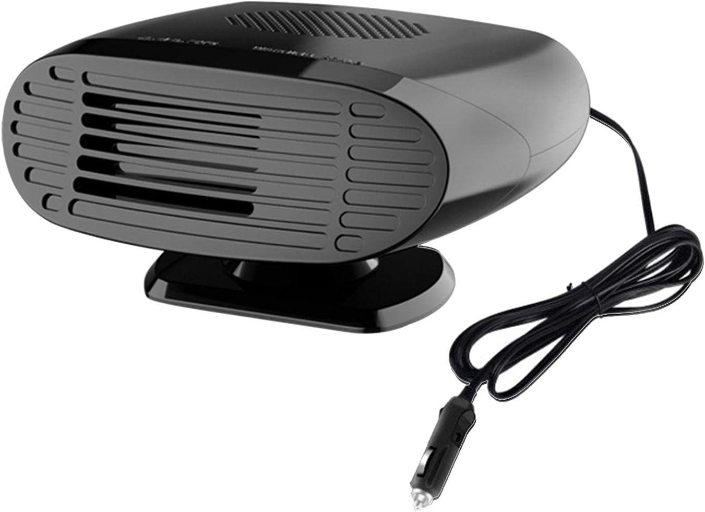 24V 150w Calentador De Coche Portátil, 360 ° Rotación Desempañador De Parabrisas Calefactor De Coche, Sistemas De Calefacción Portátiles para Coche