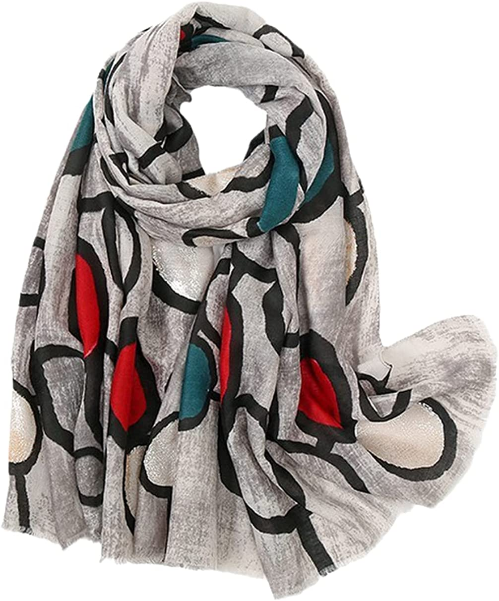Woman National products Printed Cotton Scarf Spring Linen Head Shawl Special Campaign Fe Long