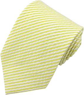 Jacob Alexander Boys' Prep Seersucker Self-Tie Neck Tie