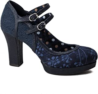 RUBY SHOO Laura Womens Shoes Navy