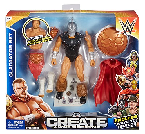 Create a WWE Superstar Triple H Gladiator Set, Package May Vary