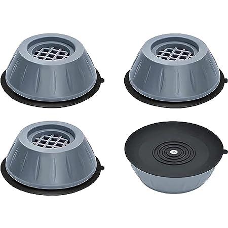 Support de machine à laver anti-vibration 4pcs, coussinets de support de machine à laver anti-vibration, support de machine à laver à réduction de choc et de bruit 4pcs,Tampons antivibration