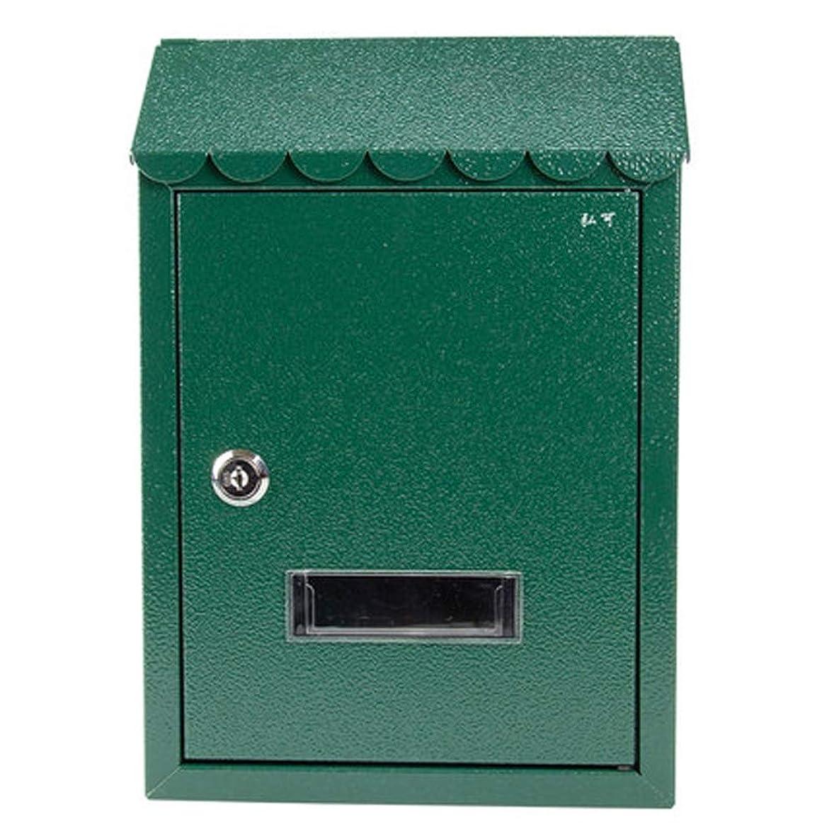 広告結核理想的ZXPzZ 住宅の郵便受けの牧草地の塗られた受信箱創造的なロック小さい郵便箱の防水提案箱 -メール収集