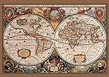 Affiche murale Carte du monde ancienne
