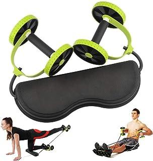فتنيس مينتس عجلة تمرين اللياقة البدنية المزدوجة ، أخضر  , ZN1096-2