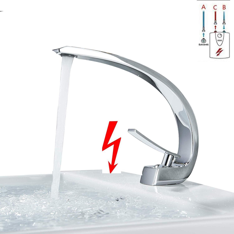 Suguword Niederdruck Bad Waschtischarmatur Einhebel Wasserhahn Spültischarmatur Einhandmischer Mischbatterie Badarmatur niederdruckarmatur für Waschbecken Waschtisch Badezimmer