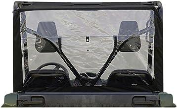 Genuine Yamaha Accessories Rear Window (Black) for 16-18 Yamaha YXZ1000R