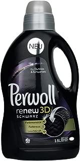 Perwoll Renew Black 3D, Liquid Black and Dark Color Laundry Detergent 1,5 Liters, 20 Loads