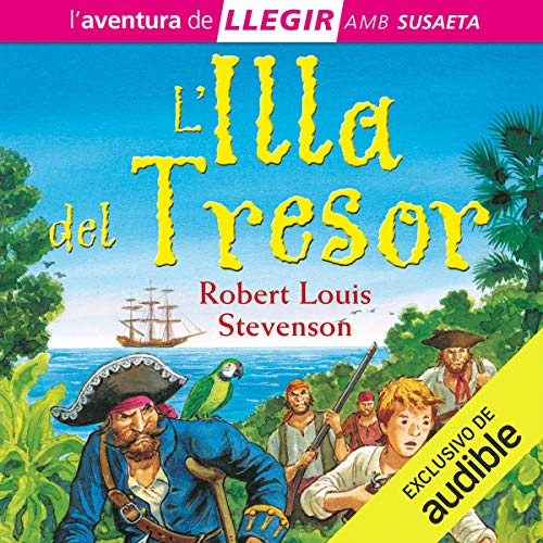 L'illa del Tresor (Narración en Catalán) [Treasure Island]  By  cover art