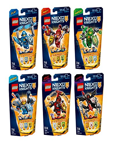 LEGO® Nexo Knights - alle 6 Sets - 70330 - 70331 - 70332 - 70333 - 70334 - 70335