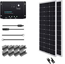 200w flexible solar panel kit