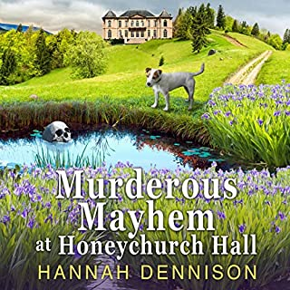 Murderous Mayhem at Honeychurch Hall audiobook cover art