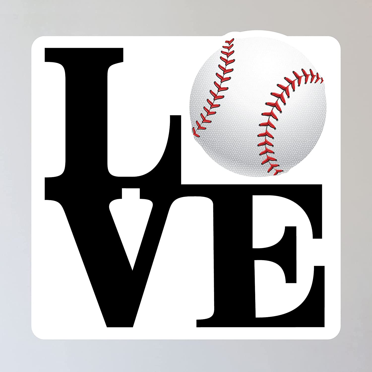 LOVE Baseball At the price of surprise Wall Sticker 11