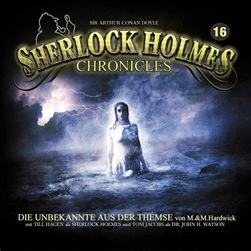 Die Unbekannte aus der Themse audiobook cover art