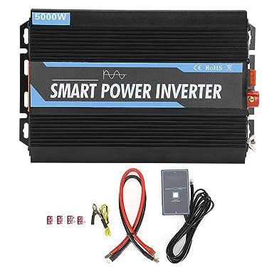Enkelbruke Pure Sine Wave Power Inverter 12V to 220V 5000W Power Inverter with USB AC Adapter for Outdoor Emergency