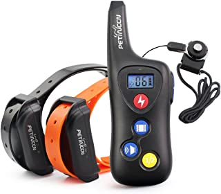 PETINCCN P690 Dog Shock Collar 2000 ft Remote Dog Training Collar 100% Waterproof and Rechargeable Pet Trainer Collar with...