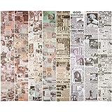 Iriisy Washi Tape Vintage Decoración Scrapbooking Diario pegatinas Cinta Adhesiva DIY Crafts para álbumes de recortes envolver regalos manualidades