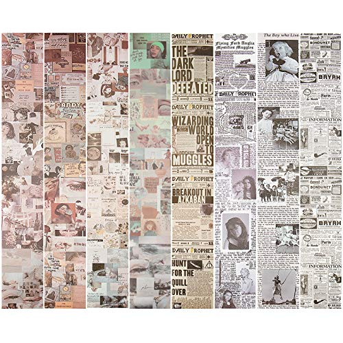 Iriisy Washi Tape Vintage Decoración Scrapbooking Diario pegatinas Cinta Adhesiva DIY Crafts...