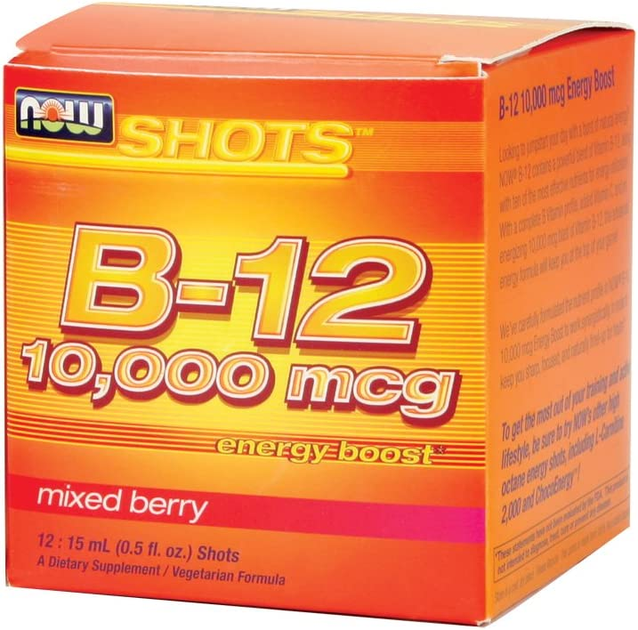 Now Foods Ranking TOP15 B-12 10000 mcg - 12: Our shop OFFers the best service 15 Shots mL Pack 0.5 fl. 4 oz.