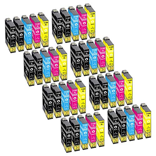platinumserie 40de tinta XL con chip compatible con Epson te1281de te1284Epson Stylus SX 425W SX 430W SX 435W
