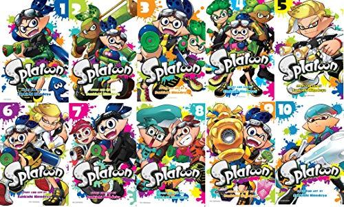 Splatoon Manga Collection 10 Books Set by Sankichi Hinodeya