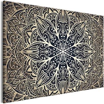 MEDIDAS: aprox. 120x80 cm en total - 1 parte LISTO PARA COLGAR: impreso en lienzo sintético de tejido no tejido, los bordes laterales estampados, montado en un bastidor de madera con el grosor de 15 mm IMPRESIÓN EN CALIDAD FULL HD: perfecta nitidez d...