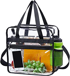 Magicbags Clear Bag Stadium Approved,NCAA NFL&PGA Security Approved Clear Tote Bag with Multi-Pockets and Adjustable Shoul...