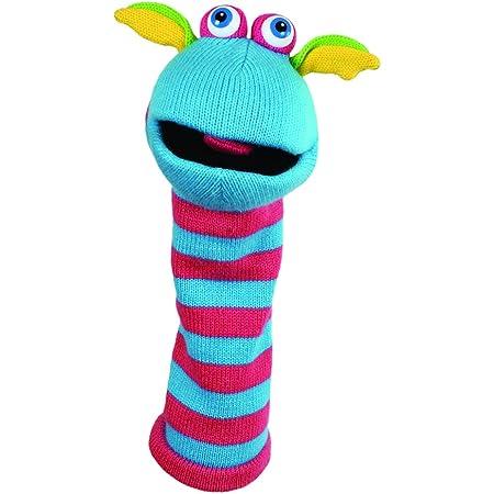 The Puppet Company Chaussettes Scorch Tricoté Marionnette à Main PC007001