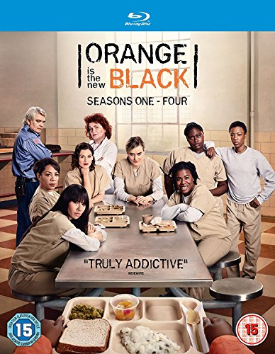 Orange Is The New Black Seasons 1-4 (12 Blu-Ray) [Edizione: Regno Unito] [Reino Unido] [Blu-ray]