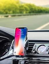 Car Air Vent Phone Holder, EXSHOW Car Vent Clip Mount for iPhone 11 XS XR X 8 Plus 7 6 6S Samsung S10 S9 S8 Huawei P30 P20 etc (All 3.5-6.0