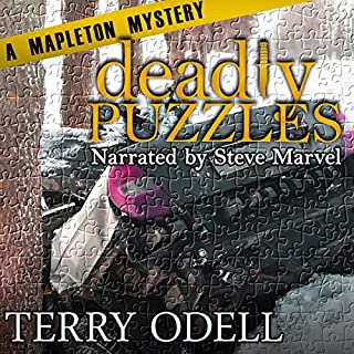 Deadly Puzzles audiobook cover art