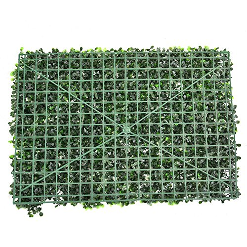 Finelyty Artificial Hedge Roll, Screening Ivy Leaf Hedge Panels, Wall Landscaping Plant, Wall Background Decorations(60 40 Cm)