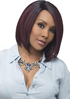 Vivica A Fox Usha Synthetic Heat Resistant Fiber Natural Baby Hair Lace Front Wig, STT28/6743, 9.3 Ounce